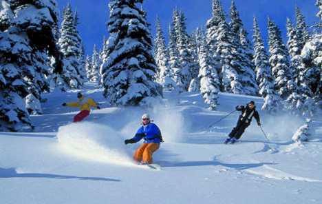 готовь лыжи летом